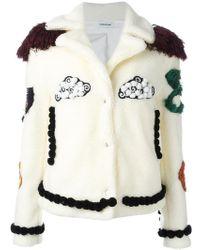 Au Jour Le Jour - Patch Detail Jacket - Lyst