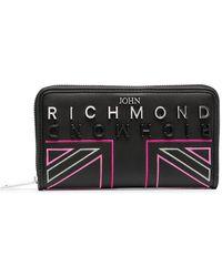 John Richmond Calabasas 財布 - ブラック
