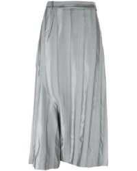 Masnada - Drop-crotch Pleated Trousers - Lyst