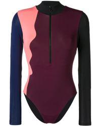 Angelys Balek - Longsleeved Swimsuit - Lyst