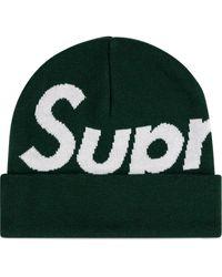 Supreme Muts Met Logo - Groen