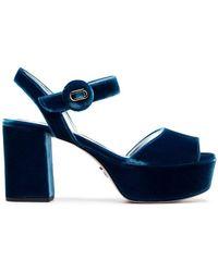 Prada - 85 Platform Sandals - Lyst