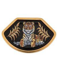 Hermès Spilla con tigre Pre-owned - Nero