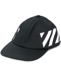 Off-White c/o Virgil Abloh Diag Baseball Cap - Black