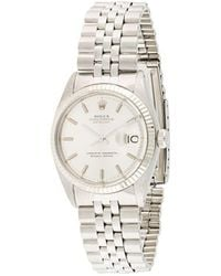 Rolex Orologio Oyster Perpetual Date 34mm Pre-owned - Metallizzato