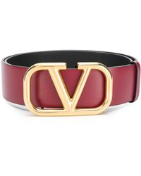 Valentino - Garavani Vlogo Belt - Lyst