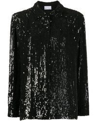P.A.R.O.S.H. Gummy シャツ - ブラック