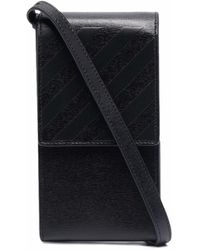 Off-White c/o Virgil Abloh 3d Diag Saff Neck Phone Holde Black Blac - Zwart