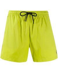 Marcelo Burlon Classic Swim Shorts - Yellow