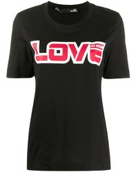 Love Moschino - Love プリント Tシャツ - Lyst