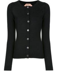 N°21 Buttoned Cardigan - Black