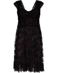 Dolce & Gabbana - レースドレス - Lyst