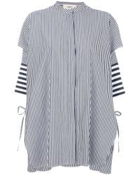 Ports 1961 - Oversized Striped Shirt - Lyst
