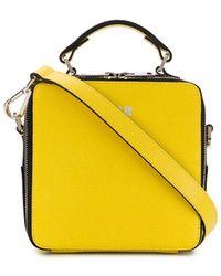 MSGM Сумка-тоут С Логотипом - Желтый