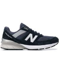 Junya Watanabe Navy New Balance Edition M990 V5 Sneakers - Blue