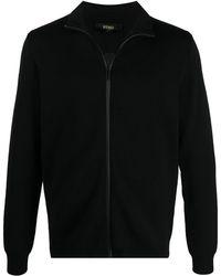 Fendi Кардиган На Молнии С Тисненым Логотипом - Черный