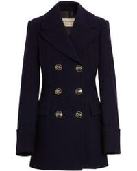 Burberry - Tailored Pea Coat - Lyst