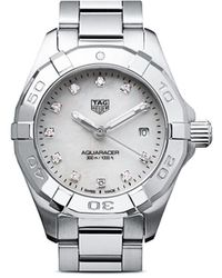 Tag Heuer Reloj Aquaracer Quartz 27mm - Blanco