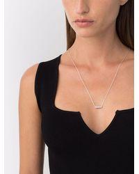 Le Gramme Capsule Pendant Chain Necklace - Metallic