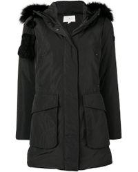 Peuterey - Fox Fur Trimmed Parka - Lyst