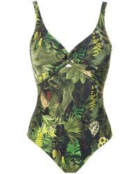 Lygia & Nanny Adriana Printed Swimsuit - Зеленый