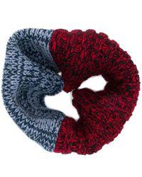 Colville ブロックカラー スカーフ - マルチカラー
