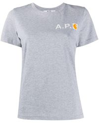 A.P.C. - Interaction #5 Carhatt Wip Tシャツ - Lyst