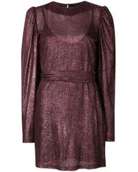FEDERICA TOSI - Puff Sleeve Dress - Lyst