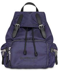 Burberry Рюкзак Из Нейлона - Синий