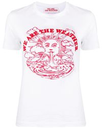 Stella McCartney We Are The Weather Tシャツ - マルチカラー