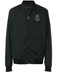 Billionaire | Embroidered Crest Bomber Jacket | Lyst