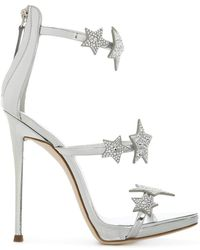 Giuseppe Zanotti - Embellished Star Sandals - Lyst