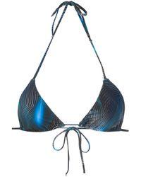 Lygia & Nanny Lido Bikini Top - Blue