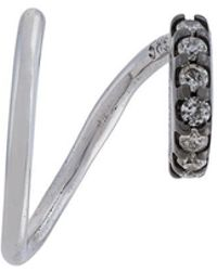 Maria Black - Lila Mono Diamond Earring (right) - Lyst