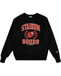 Stadium Goods Anniversary スウェットシャツ - ブラック