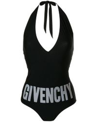 Givenchy - Logo One-piece Swimsuit - Lyst