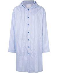 Yoshio Kubo - Printed Shirt Coat - Lyst
