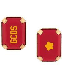 Gcds Star Rocks Logo Earrings - Multicolour