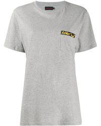 Dr. Martens T-shirt à slogan poitrine - Gris