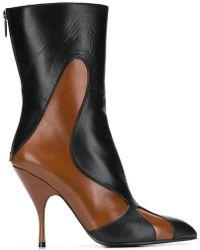 Bottega Veneta Ботинки С Заостренным Носком - Черный