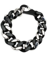 Philipp Plein Chunky Chain Necklace - Black