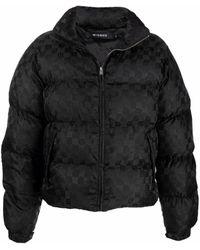 MISBHV ジップアップ パデッドジャケット - ブラック