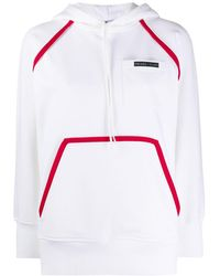 Prada Худи С Логотипом - Белый