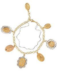 Dolce & Gabbana サファイア ブレスレット 18kゴールド - メタリック