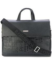 Baldinini - Embossed Logo Laptop Bag - Lyst