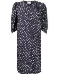 Ganni - ハートプリント ドレス - Lyst