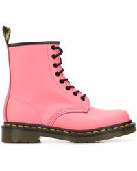 Dr. Martens 1460 レースアップ アンクルブーツ - ピンク
