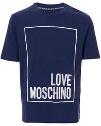 Love Moschino - Love Tシャツ - Lyst