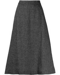 Societe Anonyme Aライン スカート - ブラック