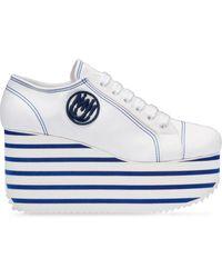 Miu Miu Baskets Extreme - Blanc